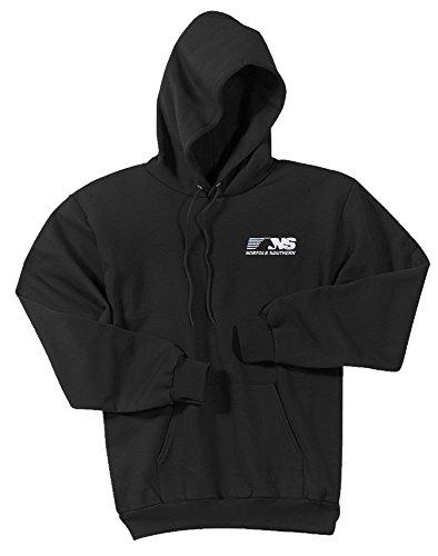 NS Thoroughbred Logo Pullover Hoodie Sweatshirt Black Adult M [68]