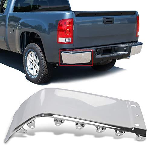 08 silverado chrome bumper cap - 4