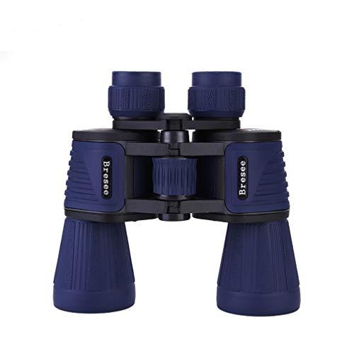 Binoculares poderosos para Adultos 10 x 50, Telescopio HD, Observación de Aves Fútbol Safari Excursiones Escalada Senderismo Caza Viajar Deporte