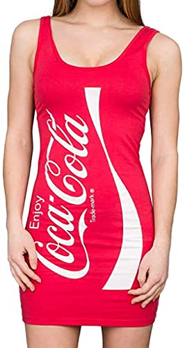 Coca-Cola Coke Red Tunic Tank Dress…
