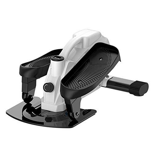 T-Day Stepper Máquinas de Step Mini Entrenador de zancada elíptica, Ejercicio aeróbico Ajustable, Equipo de Entrenamiento de Gimnasio en casa, Unisex (Color : A)