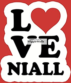 3 Inch Niall Horan One Direction 1D Wall Decal Sticker Removable Peel Self Stick Adhesive Vinyl Decorative Art Room Home Decor Girls Room Decor 3 by 3 1/2 inches