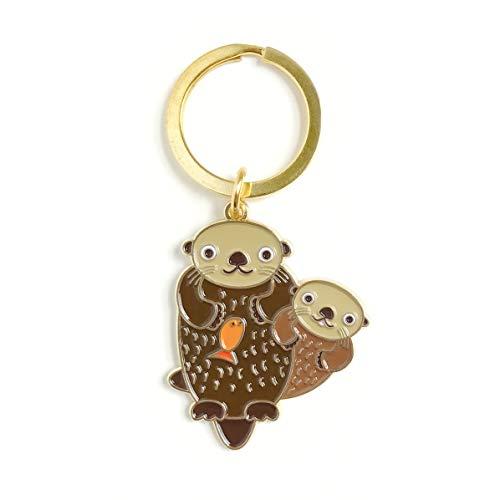 Night Owl Papierwaren Schlüsselanhänger Gold