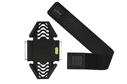 """Bone Run Tie Running Armband Phone Holder, Lightweight Sports Cell Phone Arm Band for iPhone 12 11 Pro Max XS XR X 8 7 6 Plus Samsung Galaxy S10 S9 S8 Smartphone (6.3-7.5""""+ 7.9-9.8""""+ 9.8-14"""")"""