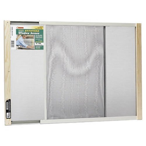 Frost King WB Marvin AWS1837 Adjustable Window Screen, 18in High x Fits 21-37in Wide