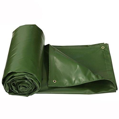 MLMHLMR Gepolsterte Plane Regenschutz Tuch Schuppen Tuch Plane Plane Sonnenschutz Tuch Sonnencreme Outdoor-Plane Plane Leinwand Plane (Color : Grass Green, Size : 5 * 4m)
