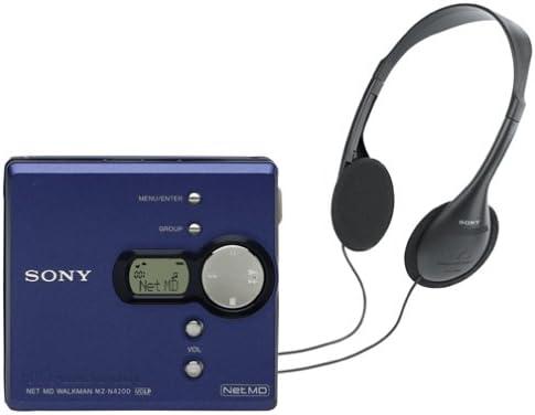 Sony MZ-N420D Net MD Walkman (Blue)