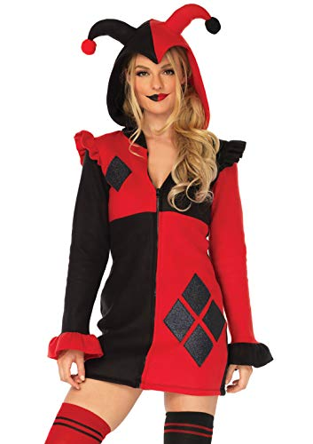Leg Avenue Women's Costume, Red/Black, Medium