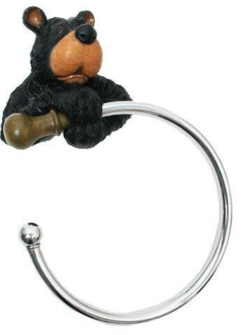 Ours-Porte-serviettes - 2 anneaux de 30,5 cm d'ours-Créoles
