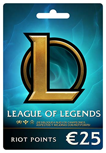 League of Legends €25 Tarjeta de regalo prepaga (3500 Riot Points)