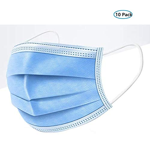 Non-woven maskers, drielaags beschermende volwassen mannelijke en vrouwelijke neus en mond maskers stof ademend haze