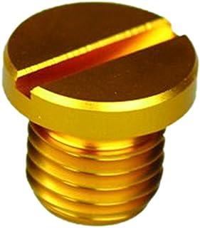 ポッシュ(POSH) ミラーホールカバーキャップ M10 逆ネジ ゴールド (1個入) 000807-04