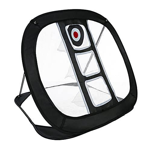 Runytek Pop Up Golf Chipping Net Golfing Target Net for Indoor/Outdoor/Backyard Golf Practice Swing Game Golfing Target Accessories