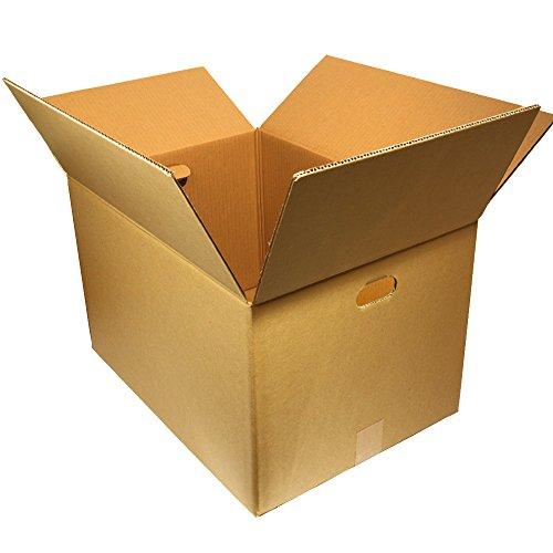 ダンボールキング 段ボール ダンボール 140 サイズ (取っ手穴付)10枚 セット 引っ越し 梱包 自社工場直送 オリジナル 強化ダンボール (10)
