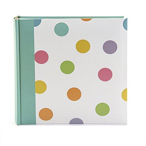 Kenro Candy Series - Álbum de fotos, diseño de lunares y rayas, Puntos, 200 Photos 7x5