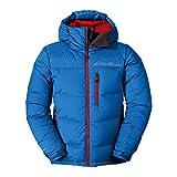 Eddie Bauer Men's Peak XV Down Jacket Ascent Blue Large