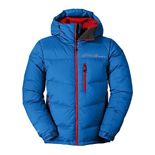 Eddie Bauer Men's Peak XV Down Jacket, Ascent Blue Regular L
