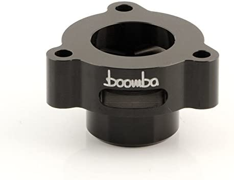 Boomba Racing Blow OFFicial shop Off Valve New popularity BOV Black Adapter F Compatible with