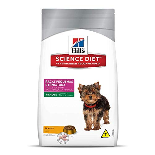 Ração Hill's Science Diet para Cães Filhotes - Raças Pequenas e Miniatura - 3kg