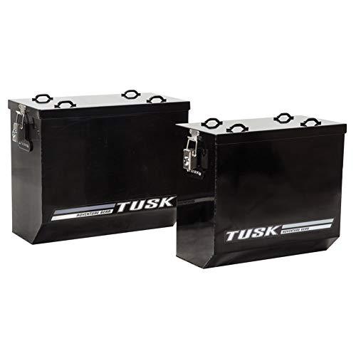 Tusk Aluminum Pannier Boxes Large Black