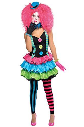 Les adolescents Clown Costume Rose Filles Femmes Teen Miel Arlequin Jester Clown Halloween Costume Rose Harley Quinn