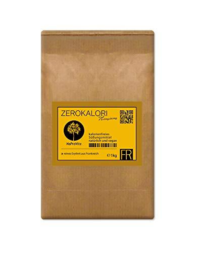 Erythrit aus Frankreich - 3x 1kg ZeroKalori Erythritol im plastikfreien Papierbeutel Zuckerersatz