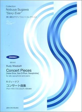 SEO‐012 須川展也サクソフォン=コレクション R.ヴィードフ/コンサート曲集 ~アルトサクソフォンとピアノのための~