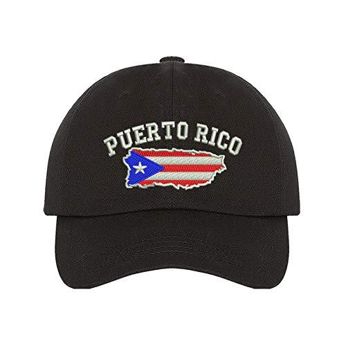 Puerto Rico Map Baseball Cap - Boricua Baseball Hat Dad Hat Unisex