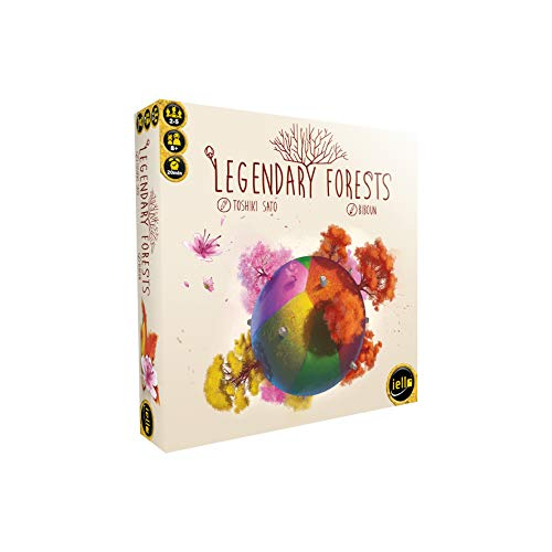 IELLO 515439 Legendary Forests Legespiel, bunt