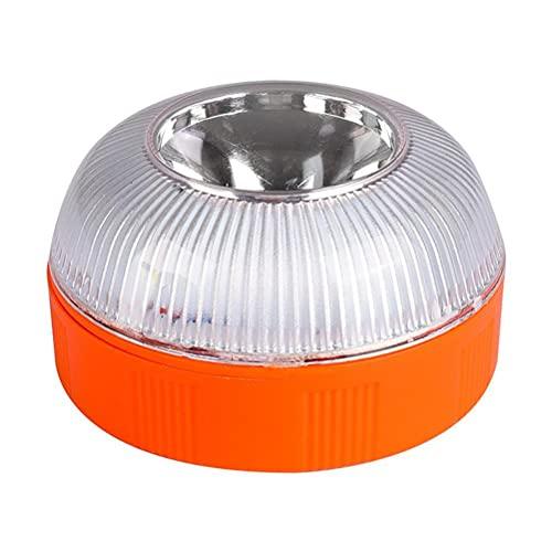 Rlevolexy Luz de Emergencia V16 Luz estroboscópica Señal Luz de Falla de Emergencia magnética Luz de Emergencia LED para automóviles y Motocicletas