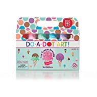 Do.A.Dot Art! Ice Cream Scented Washable Dot Markers for Kids and Toddlers Set of 6 Pack by Do A Dot Art, The Original Dot Marker (203)