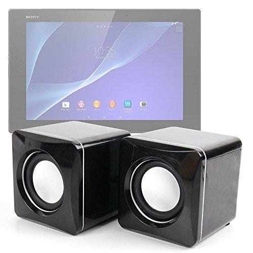 DURAGADGET Altavoces Compactos para Tablet Moonar Allwinner A13 9