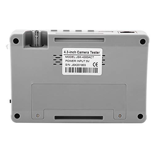 Probador de cámara CCTV 1080P / 5MP para CCTV con función de detección ADSL Sistema de seguridad