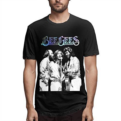 Bee Gees T-Shirt Herensport multifunctionele katoenen T-shirt met korte mouwen Top Vest