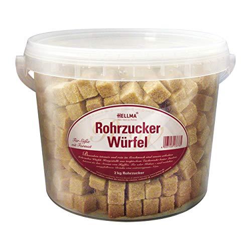 Hellma Rohrzucker Würfel 2kg