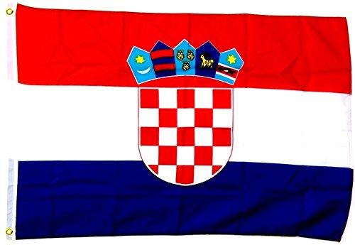 Fahne Flagge Kroatien 30 x 45 cm [Misc.]