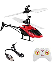 Vikas gift gallery Exceed Induction Flight Electronic Radio RC Remote Control Toy Charging Helicopter Toys with 3D Light Toys for Boys Kids (Indoor Flying) ( Small Size ) Multicolour