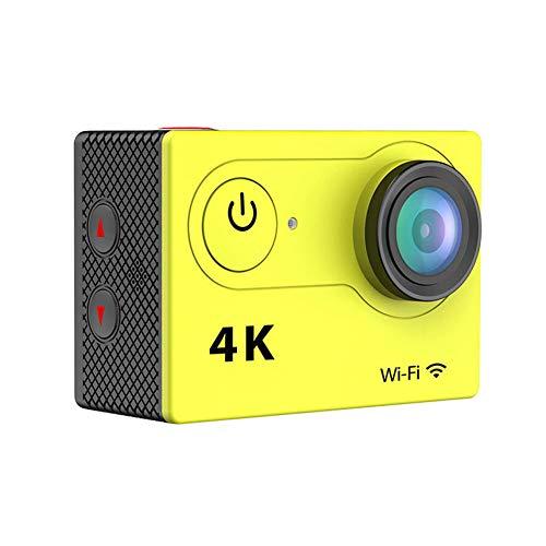 Action Cam, 4k Wi-Fi 30m con Fotocamera Subacquea Digitale, Hyper Stabilizzazione Videocamera,170° Grandangolare,Utilizzato per Sport e attività, Imme