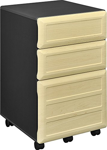 Ameriwood Home Pursuit Mobile File Cabinet, Gray