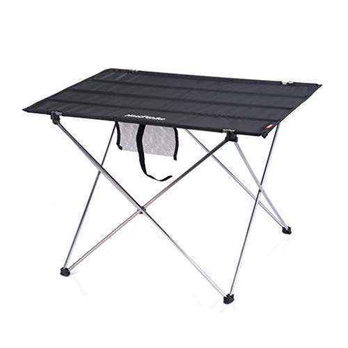 Mesa plegable al aire libre, mesa plegable de aluminio, portátil, mesa, mesa de picnic al aire libre, banquete, fiesta, jardín, barbacoa, decoración de ocio