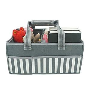 Baby Diaper Caddy – Nursery Essential Organizer Bag