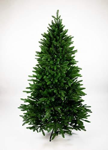 Seidenblumen Roß Nordmanntanne 180cm LS künstlicher Weihnachtsbaum Tannenbaum Kunststanne Kunststoff Spritzguss-Verfahren 100% PE