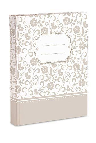 Mareli - Álbum de Fotos de 23 x 30 cm, 60 páginas con Papel de Seda, Color Blanco