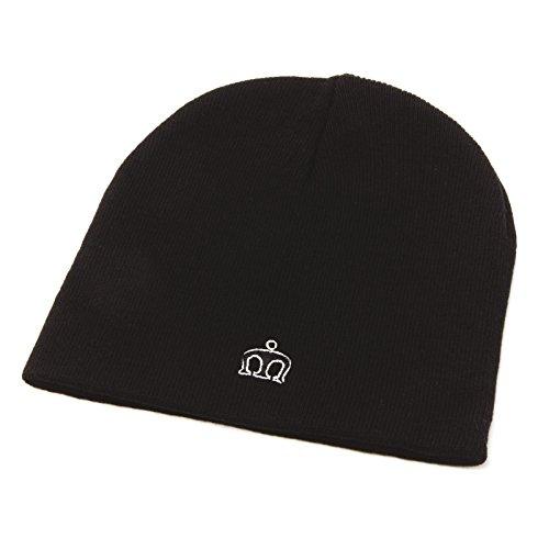Merc of London Collins, Beanie Hat Bob, Noir, Unique (Taille Fabricant: One Size) Homme