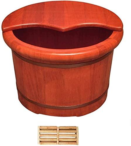 Pedicure Bowl Piede immergiti in legno massello bagni del piede barilotto bagni bagni barile sanitaria bacino del bacino del bacino del piede di legno domestico del piedino domestico barile piccolo me