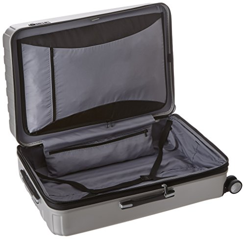 DELSEY Paris Luggage Checked-Large Hard Case Spinner Suitcase, Silver, 29 inch