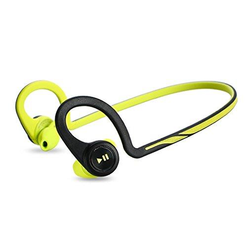 Plantronics - Auricolari Bluetooth BackBeat Fit, colore: Verde