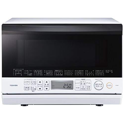 東芝 簡易スチームオーブンレンジ 23L グランホワイトTOSHIBA 石窯オーブン ER-V60-W