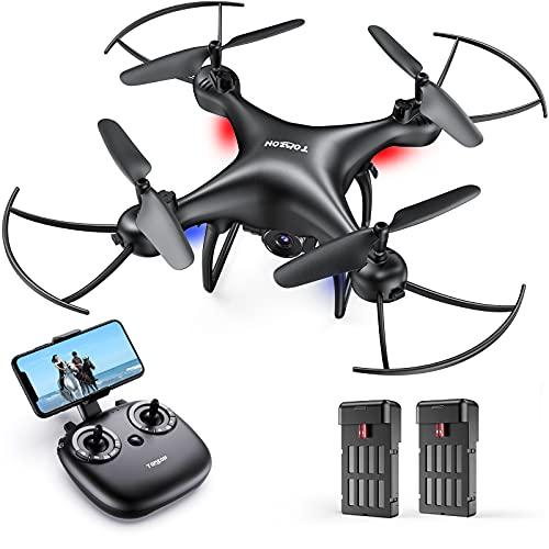 Tomzon Drohne mit Kamera 1080P FHD für Anfänger, FPV 2.4Ghz WiFi Live Übertragung, Verbesserter...