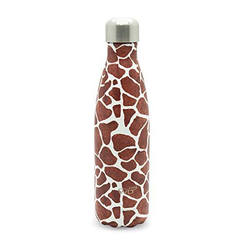 WD Lifestyle - Bottiglia Borraccia Termica Giraffa - Thermos cl 500